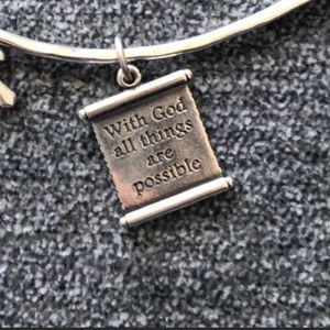 James Avery scripture charm